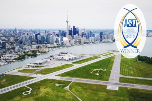 TORONTO'S BILLY BISHOP AIRPORT AND DETROIT METRO GIVE REACTION TO ASQ SUCCESS