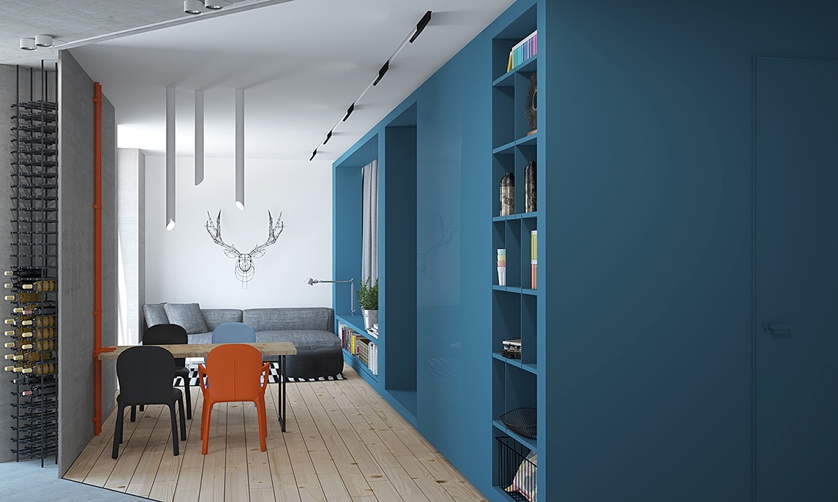 modern-blue-and-orange-interior-theme