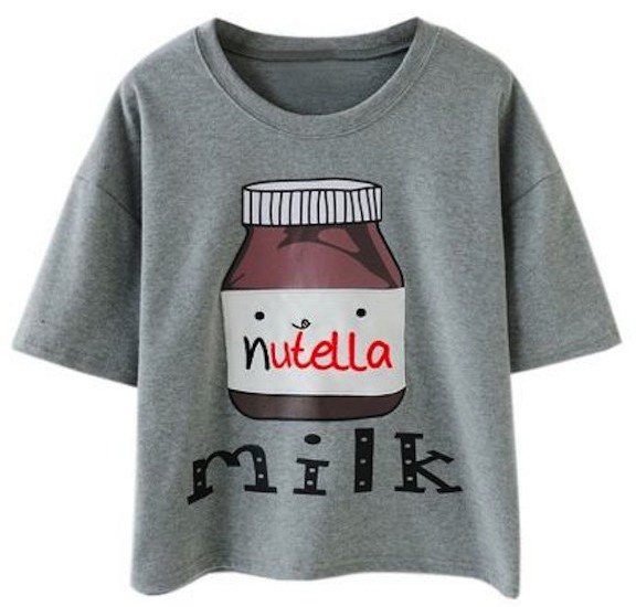 Nutella-Milk-Tee-Shirt